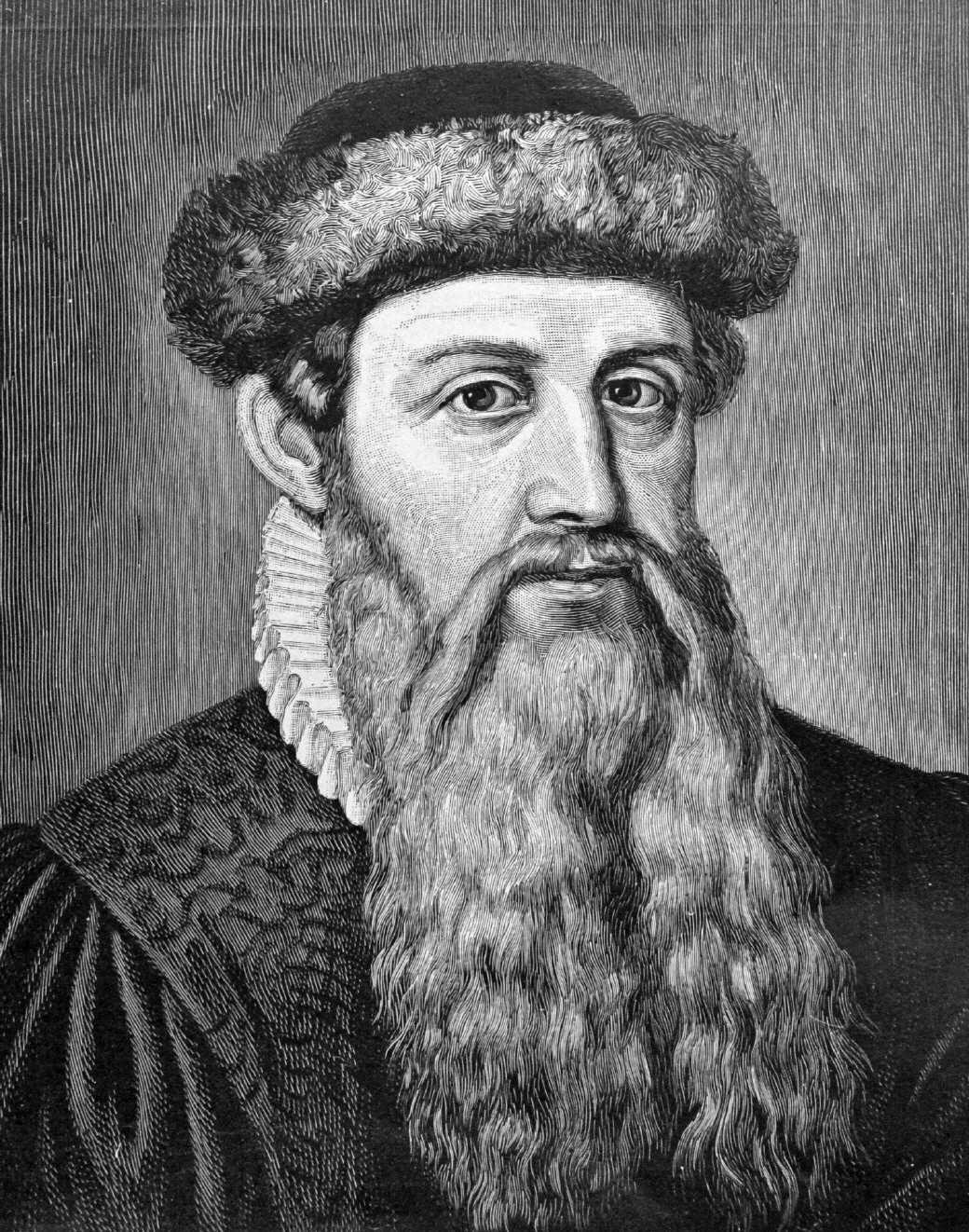 جوہانس گٹین برگ