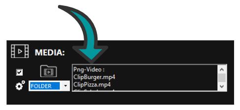 Media in Easy Multi Display
