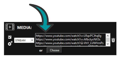 Streaming video's in Easy Multi Display
